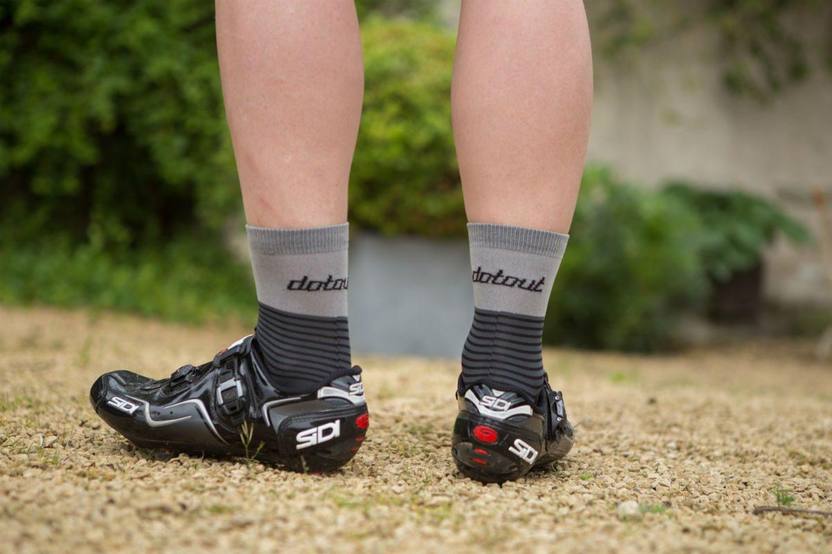 Bij mooie fietsschoenen horen ook mooie fietssokken.