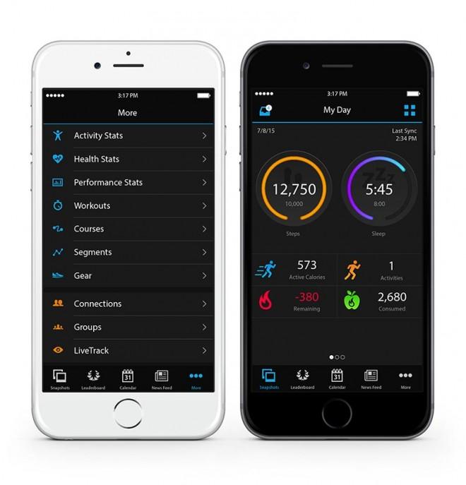 Indem du dein Garmin via Garmin Connect mit deinem Mobiltelefon koppelst, kannst du praktische Funktionen, wie beispielsweise Group Track, verwenden.