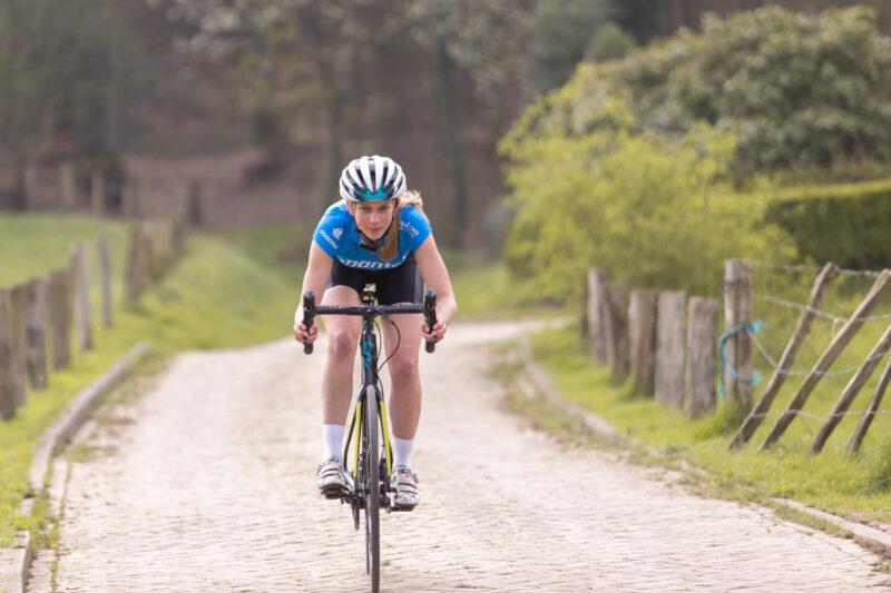 zadelpijn kan ook komen door een verkeerde fietshouding