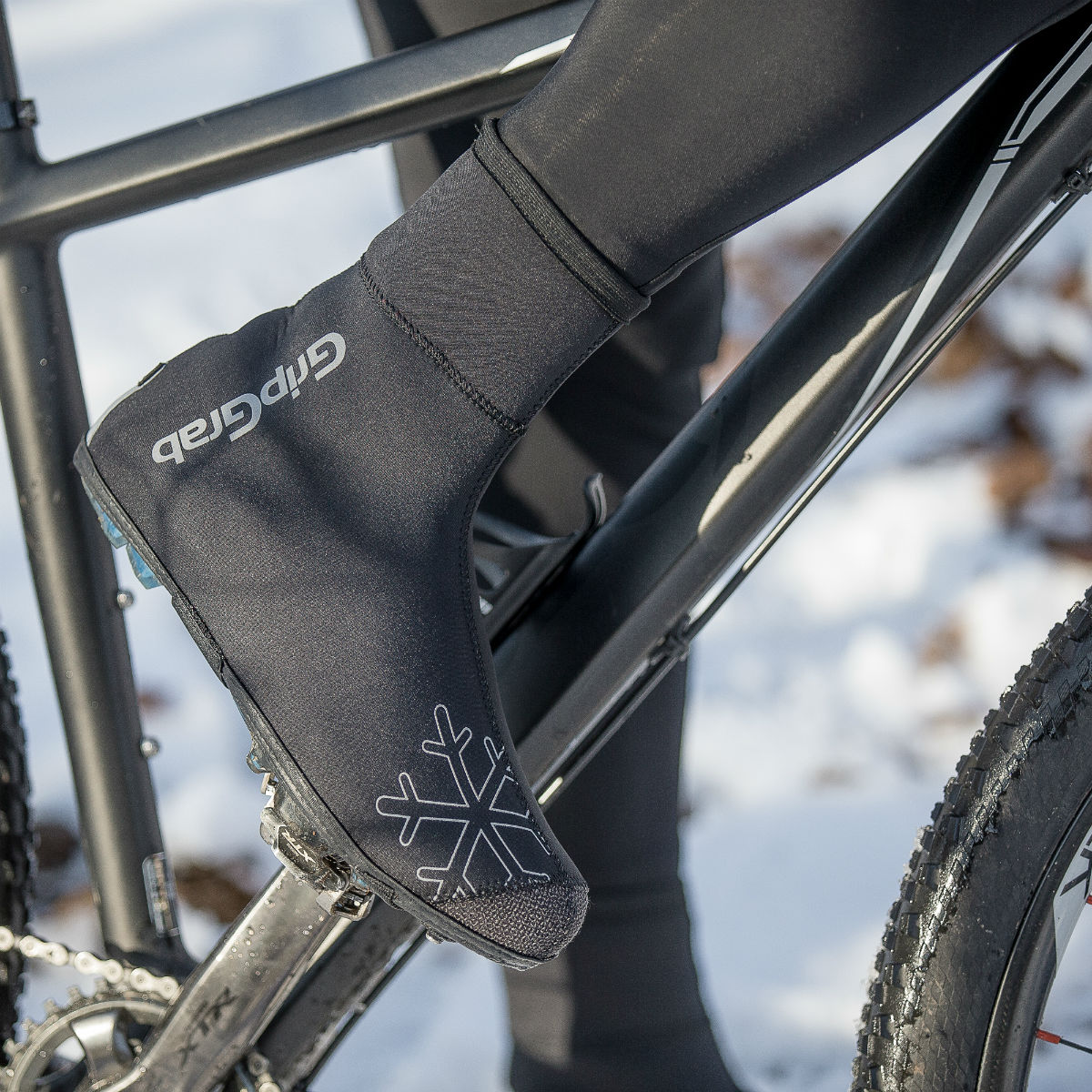 Overshoes for the worst cold are often made of neoprene.