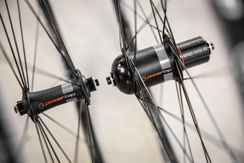 A power meter in the hub provides the most accurate measurement of all power meters.