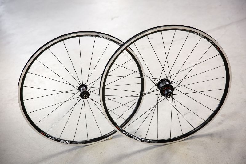 At first glance, you wouldn't think these wheels have a power meter.