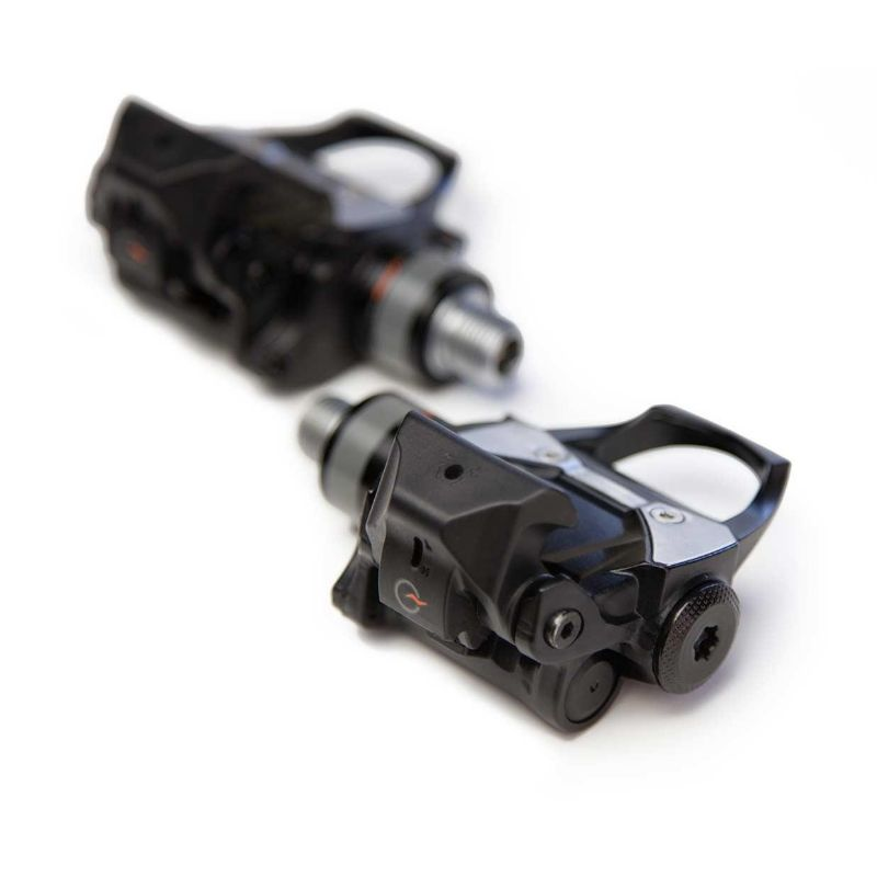 Pedals with a power meter are often slightly thicker. You may need to adjust your saddle height.