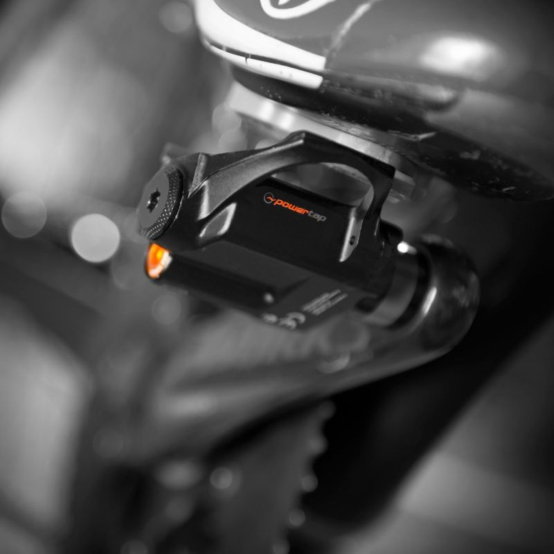 Mounting a Powertap power meter is very easy, but the pedals wear down quicker than other power meters.