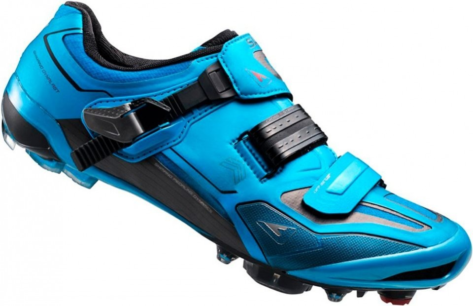 Bleu Chaussures Shimano Avec Fermeture Velcro Pour Les Femmes mgUWUBn9A