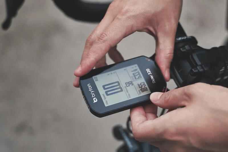 fietscomputer GPS