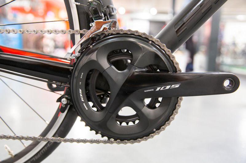Een Shimano 105 groep is geschikt voor wielrenners die al wat meer hebben gefietst en meer eisen stellen aan schakelgemak en duurzaamheid.