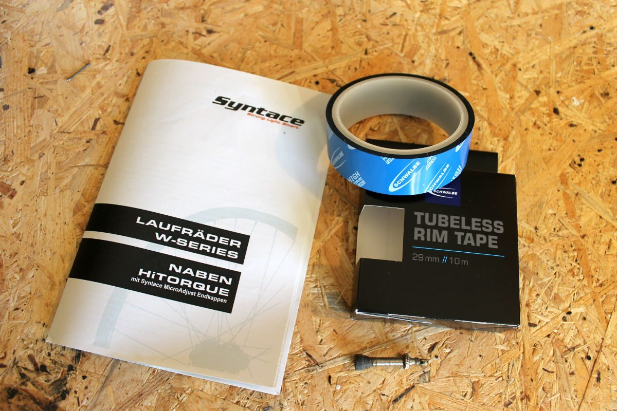 Met de Tubeless Rim Tape van Schwalbe is je velg zo luchtdicht gemaakt.