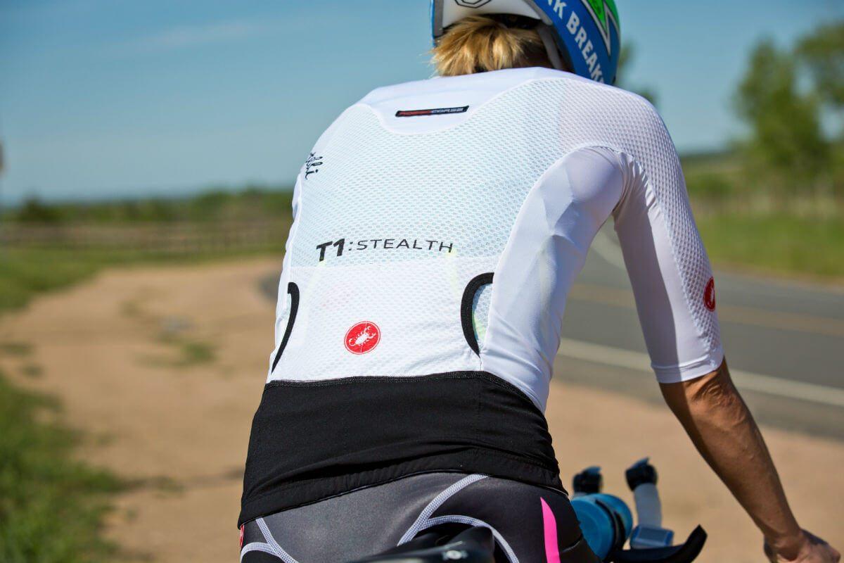 Bra triathlonkläder och en flaska mellan tempobågarna 19e8b00f9baf5