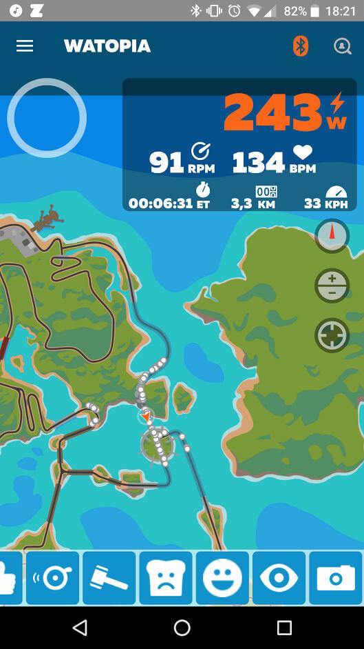 Screenshots maken, een mini-kaart bekijken en andere leuke interacties, het kan allemaal met Zwift Companion.